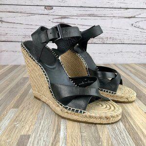 Joie 'Lena' Espadrille Wedge Sandals Size 39 9